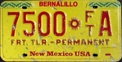 US-Nummernschild: Vom Wüstenschrottplatz