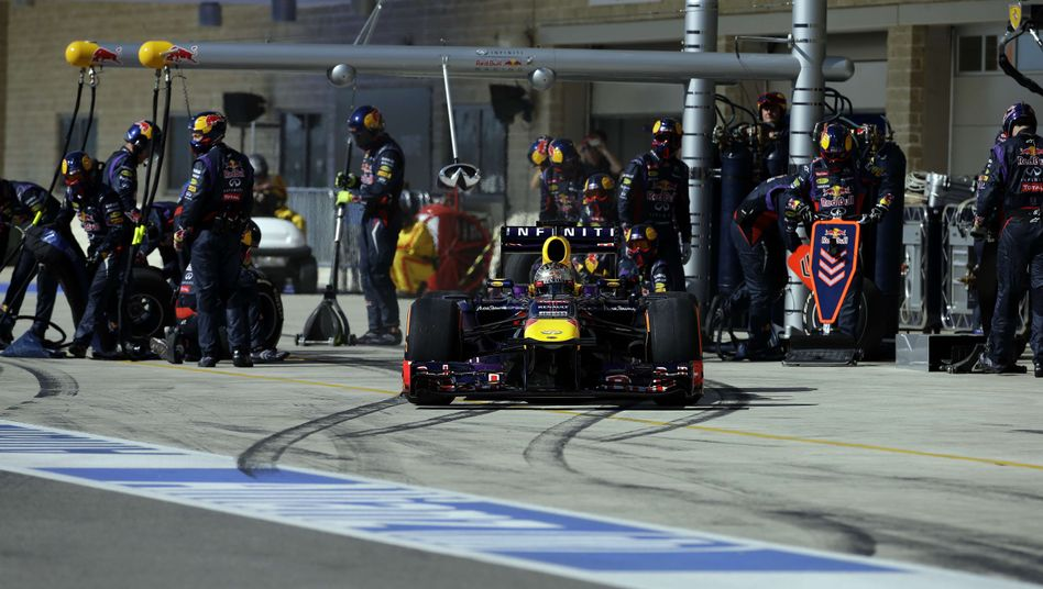 Red-Bull-Pilot Webber: Neuer Rekord in der Box