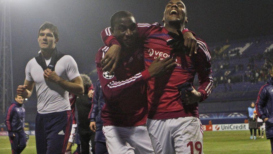 Lyon-Profi Briand (rechts): Sechs Tore in einer Halbzeit