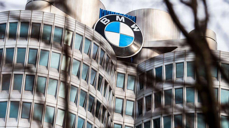 BMW Zentrale in München (Archivbild)
