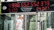 Staatsschulden erreichen Rekordhoch in Coronakrise