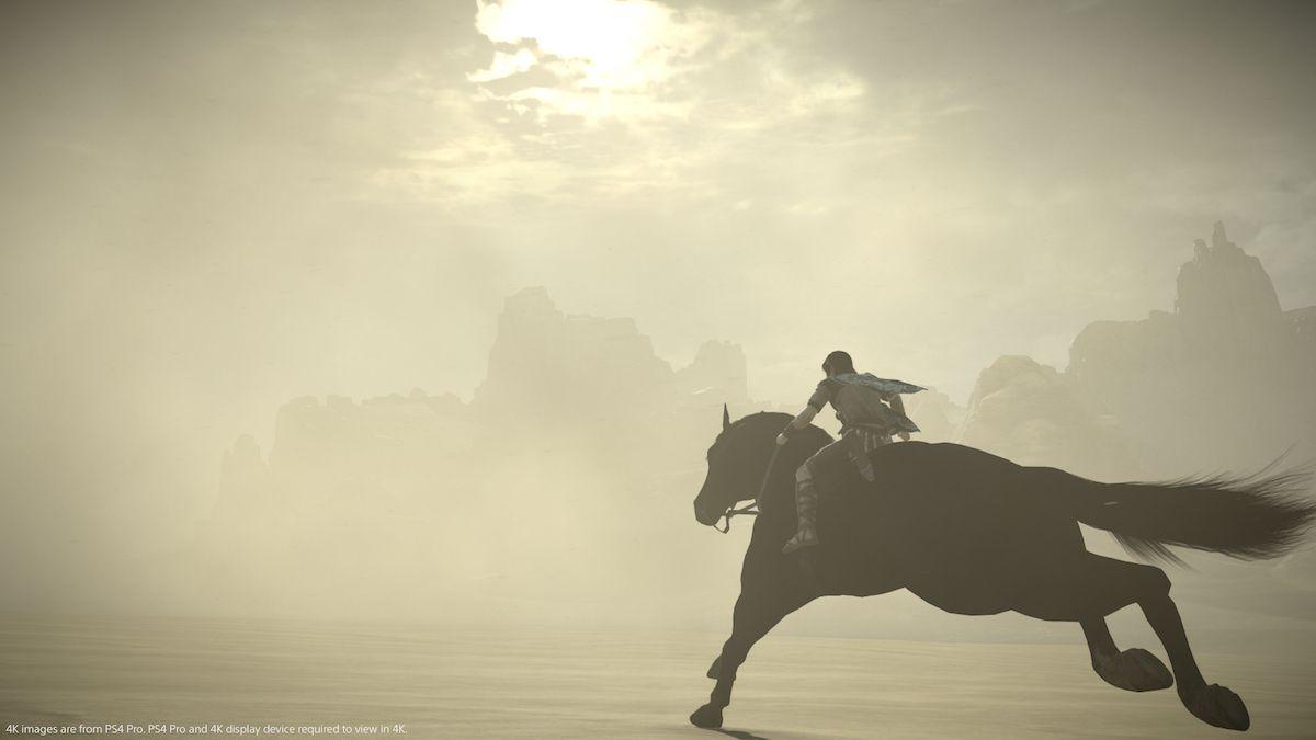 NUR ALS ZITAT Screenshot Shadow of the Colossus/ 5