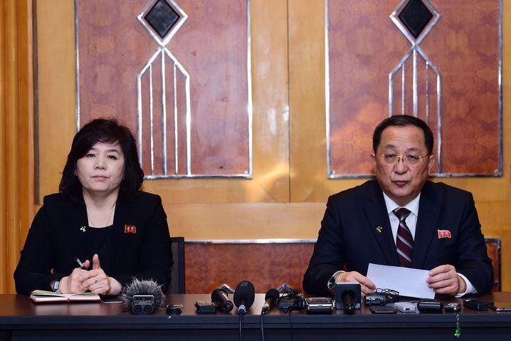 Nordkoreas Außenminister Ri Yong Ho