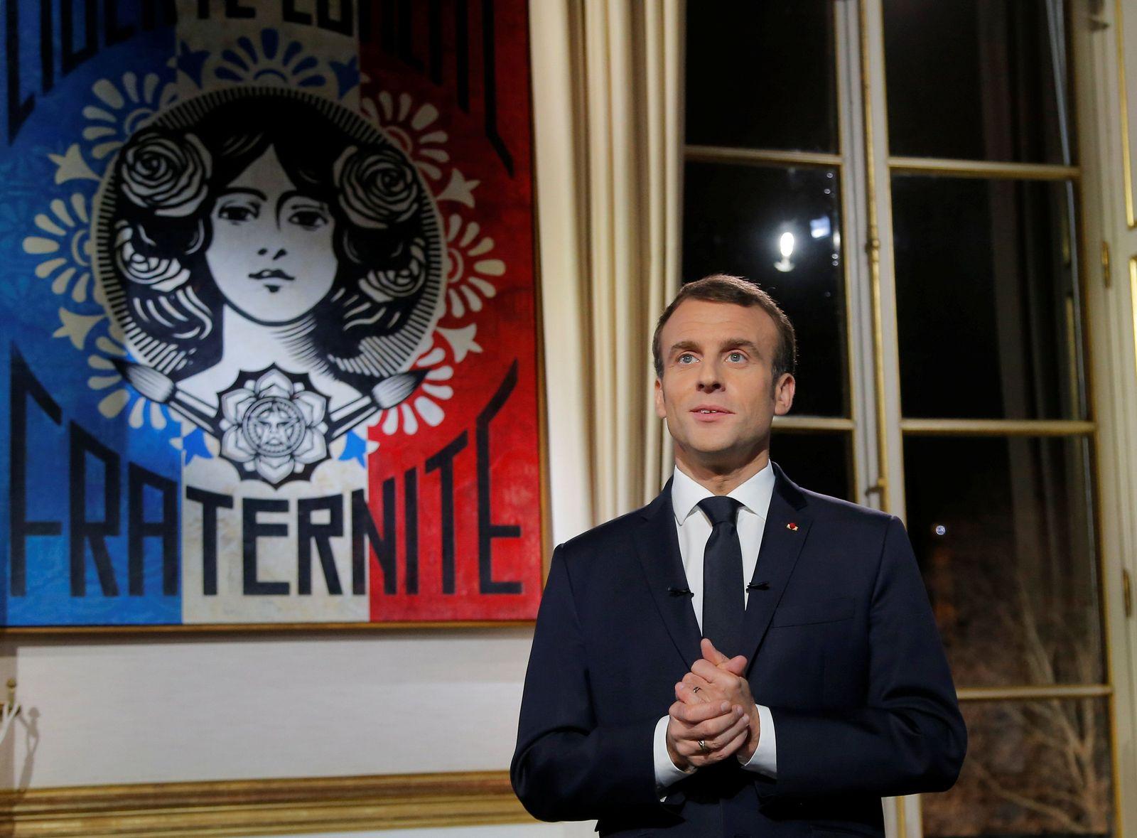 Macron/ Neujahrsansprache