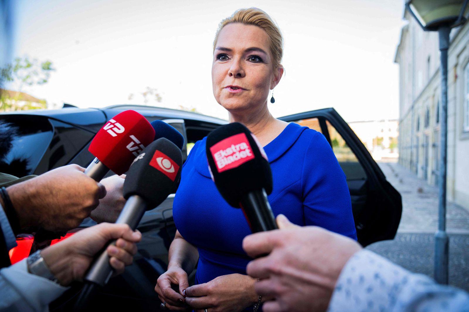 CORRECTION-DENMARK-POLITICS-JUSTICE