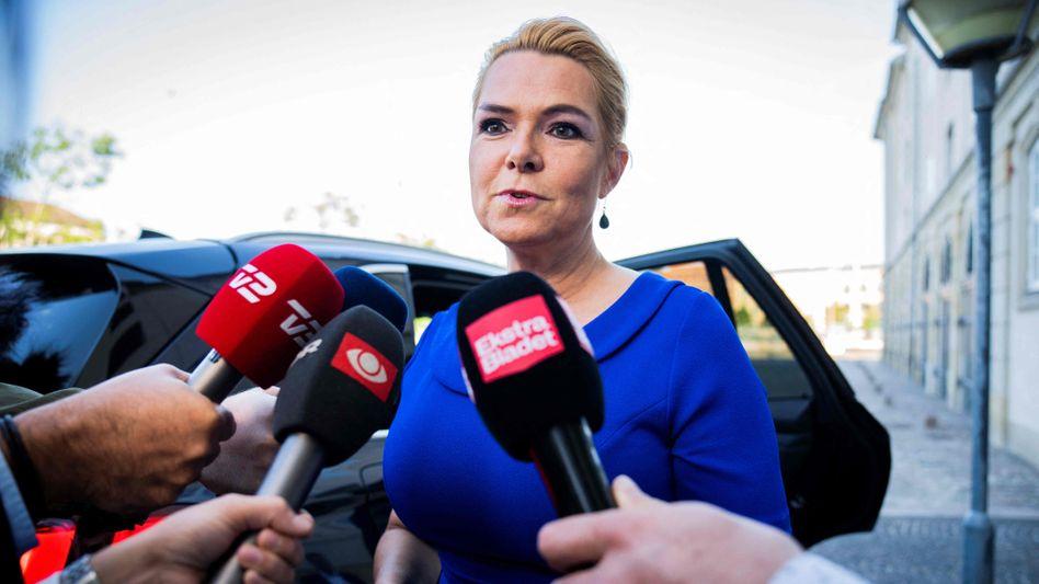 Ex-Ministerin Støjberg vor dem Prozessbeginn in Kopenhagen: Ein Verfahren vor einem Reichsgericht ist sehr selten