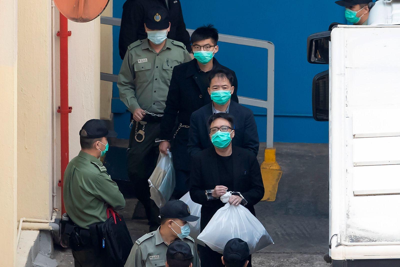 Nach Anklage von Aktivisten in Hongkong