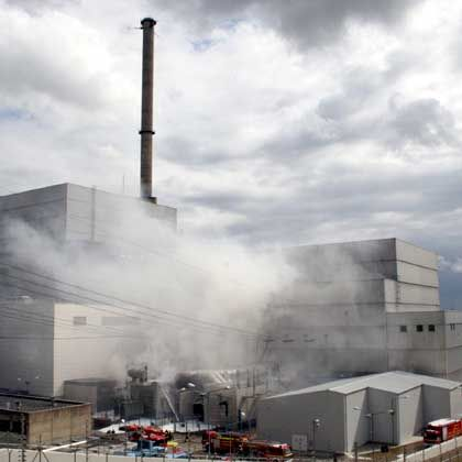 The fire at Krümmel at the end of June may have been the result of attempts to up the reactor's output.