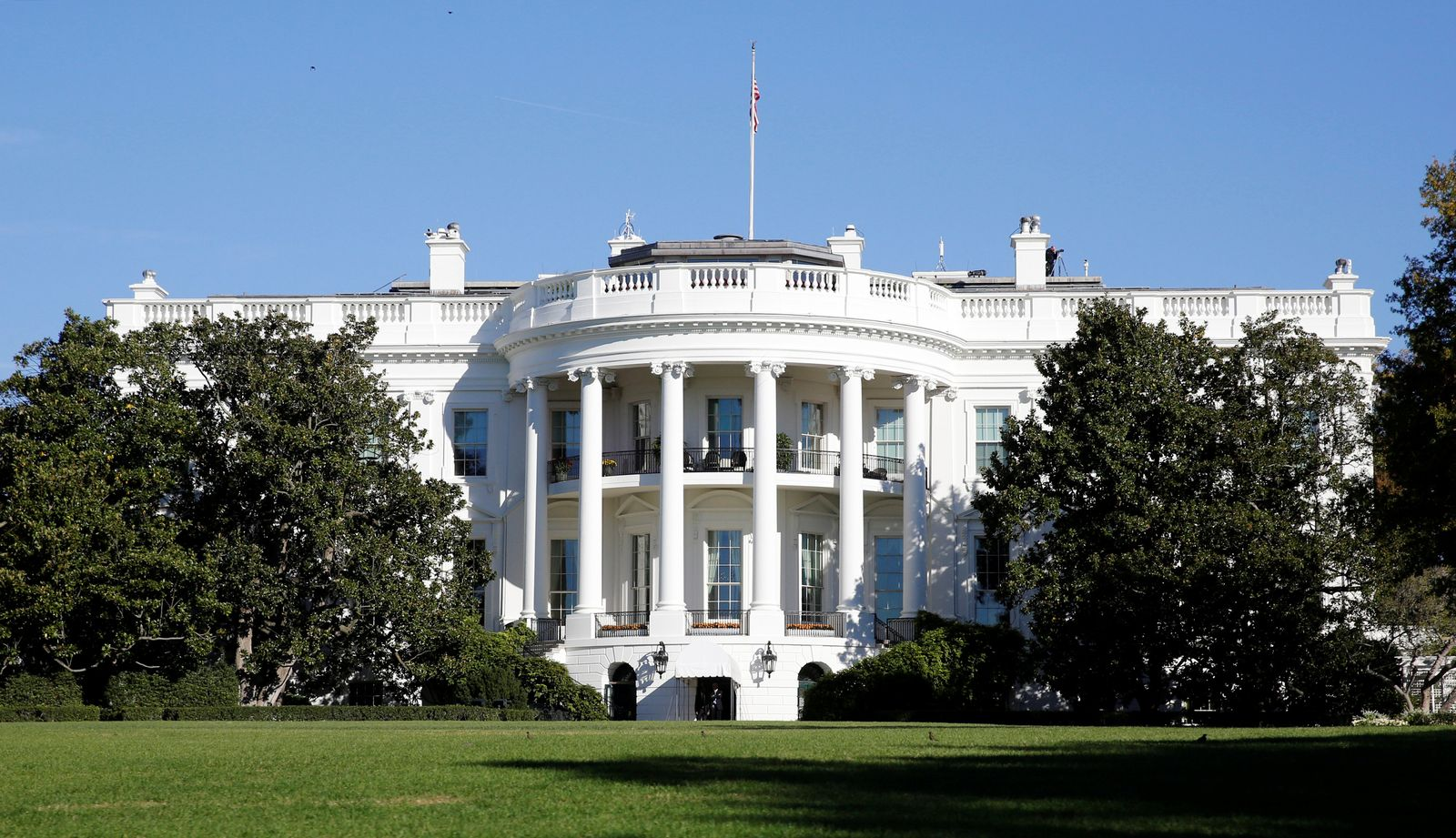 USA / White House / Weisses Haus