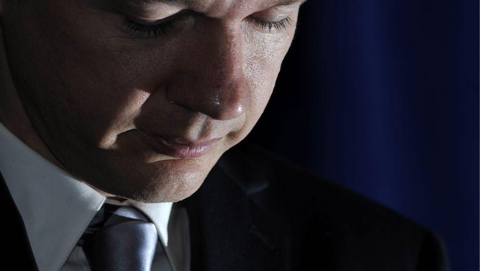 Julian Assange (Archivfoto): Ab Mitte Mai werden im Londoner Prozess die Zeugen gehört