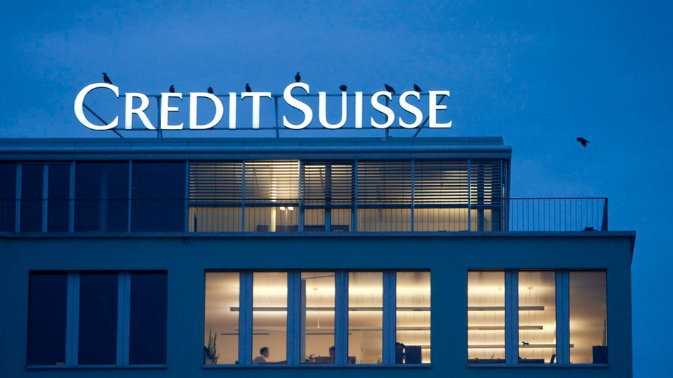 The data on Germans with bank accounts in Switzerland is likely from Credit Suisse.