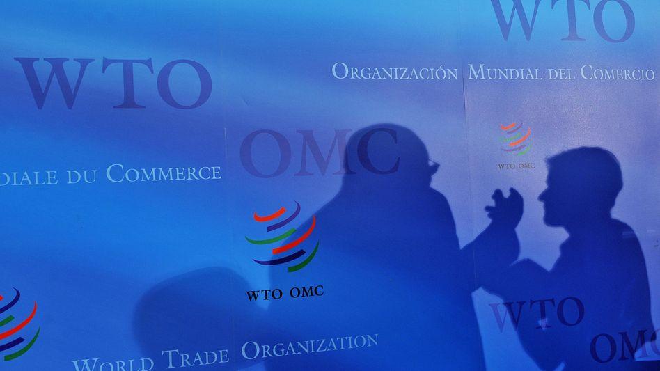 WTO-Pressekonferenz in Genf (Archivbild): Der Streitschlichtungsmechanismus soll vorübergehend die Blockade der USA aushebeln