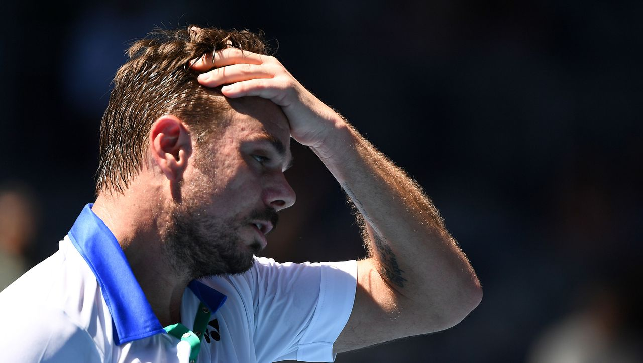 Australian Open: Wawrinka vergibt drei Matchbälle und fliegt raus - DER SPIEGEL