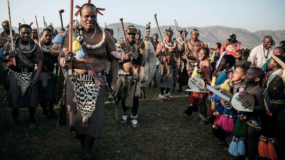 Mswati III., König von Swasiland: Erheblicher Wohlstand