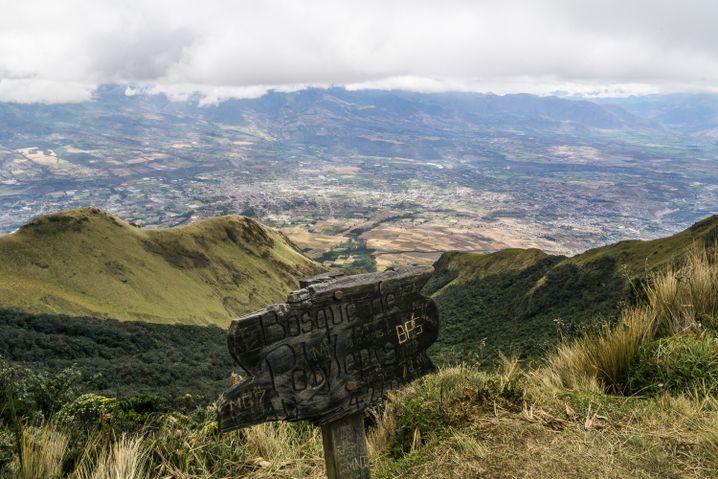 Übungstour am Vulkan Imbabura