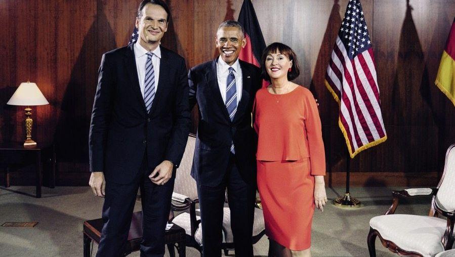 Brinkbäumer, Obama, Mikich