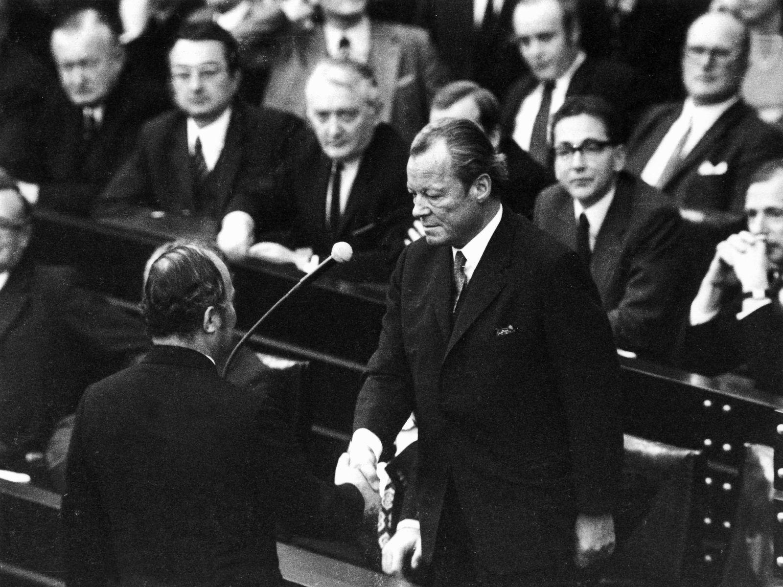 1972 Misstrauensvotum gescheitert