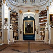 Much of the Duchess Anna Amalia Library in Weimar, in the German state of Thuringia, was destroyed in a 2004 fire.