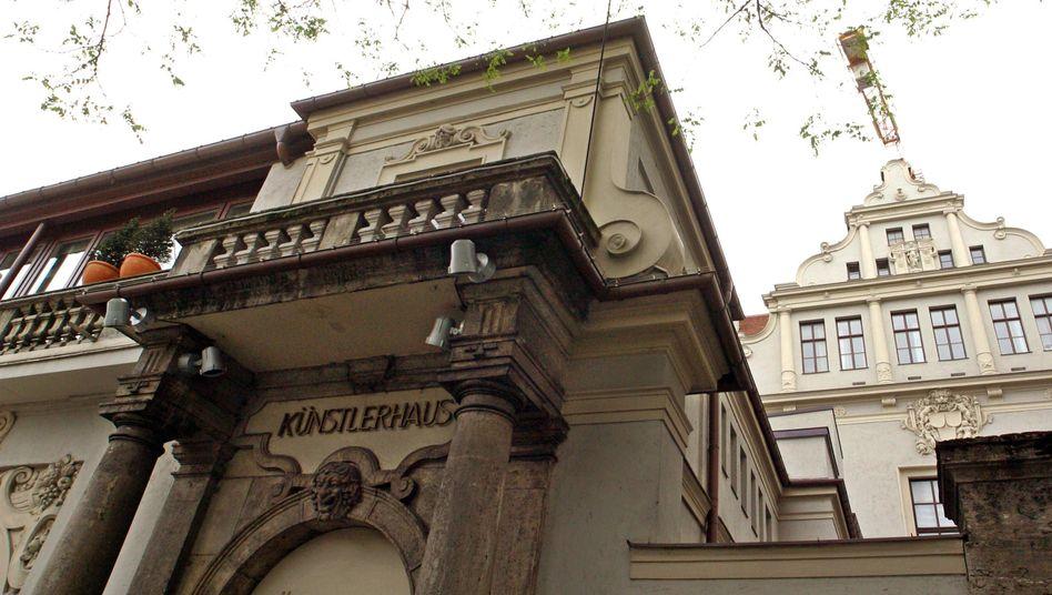 Das Künstlerhaus am Lenbachplatz in München