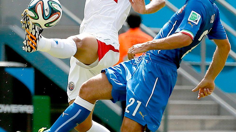Costa Ricas Sieg gegen Italien: Kopfball ins Glück