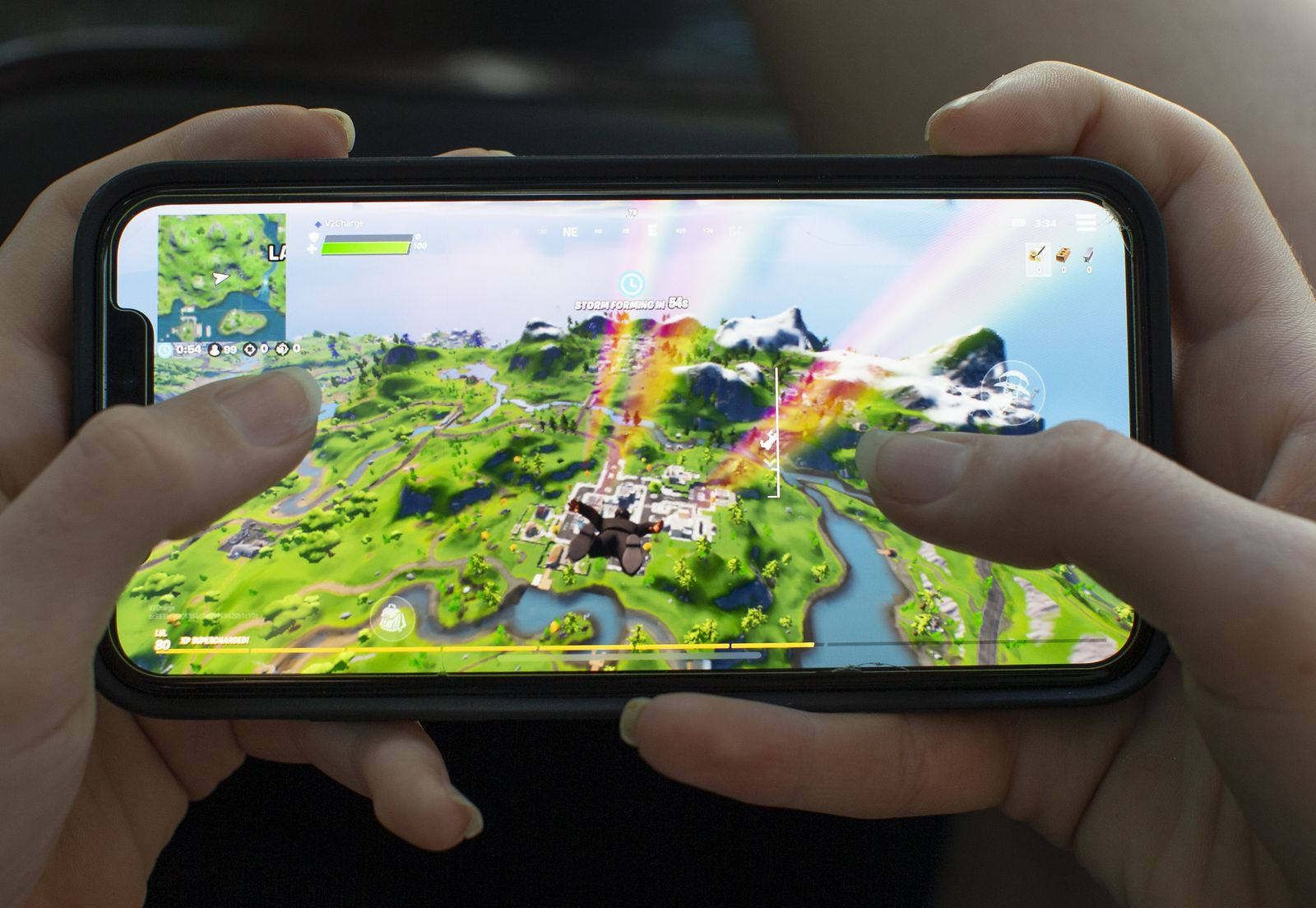 Epic Games Apple App Store dispute over Fortnite, Billerica, USA - 24 Aug 2020