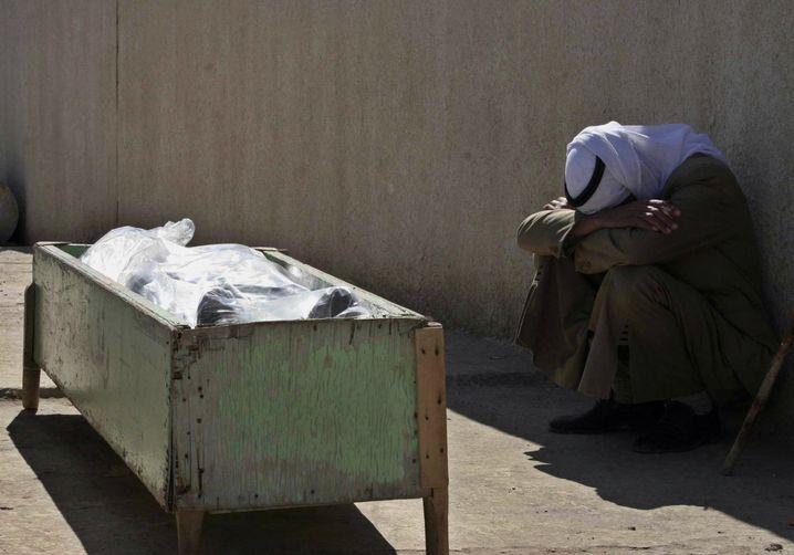 Der Kampf zwischen Schiiten und Sunniten fordert viele Opfer (hier: Bakuba, Februar 2006)