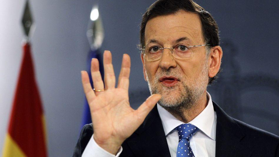Spanischer Regierungschef Rajoy: Kampf um die Milliarden