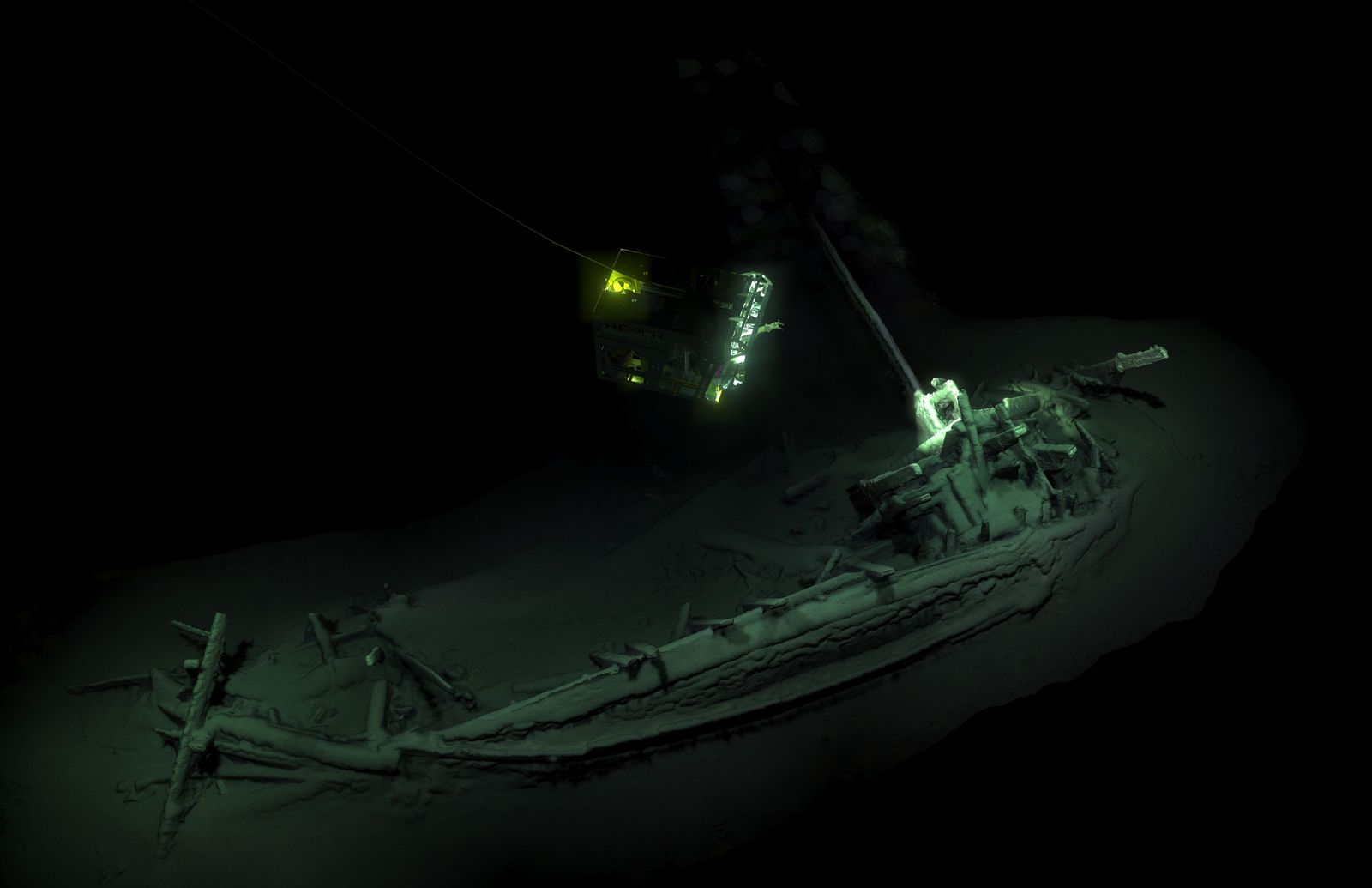 EINMALIGE VERWENDUNG Schiffswrack/ Black Sea Ship/ Schwarzes Meer/ Bulgarien