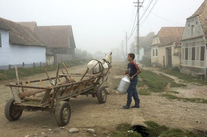Dorf in Rumänien 2006 - im Jahr vor dem EU-Beitritt