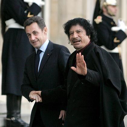 Sarkozy empfängt Gaddafi in Paris: Menschenrechte kein Thema