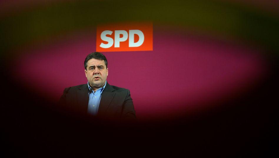"""SPD-Chef Gabriel: """"Es geht um mehr als nur um einen Abhörskandal bei der Kanzlerin"""""""