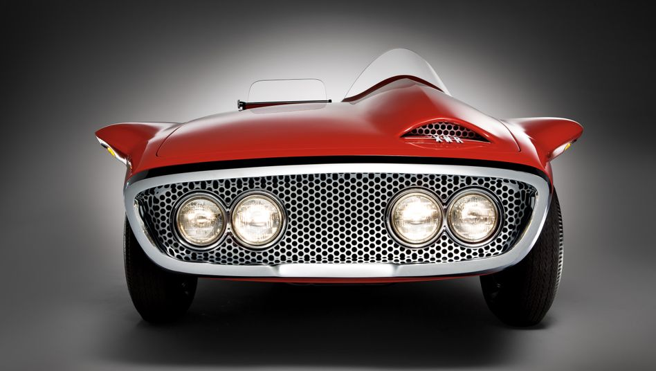 Der Plymouth XNR war die Sensation der New York Autoshow des Jahres 1960