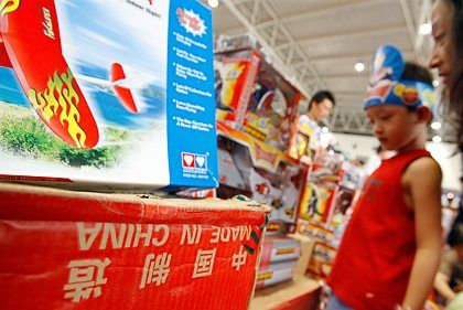 China has said it will introduce new rules to improve the safety of its toys, as the country's massive industry faces international condemnation over its exports.