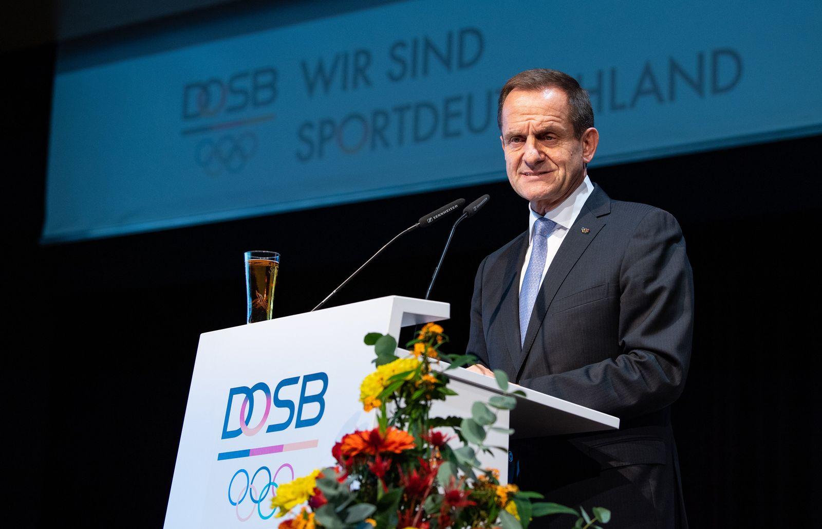 Mitgliederversammlung des Deutschen Olympischen Sportbundes