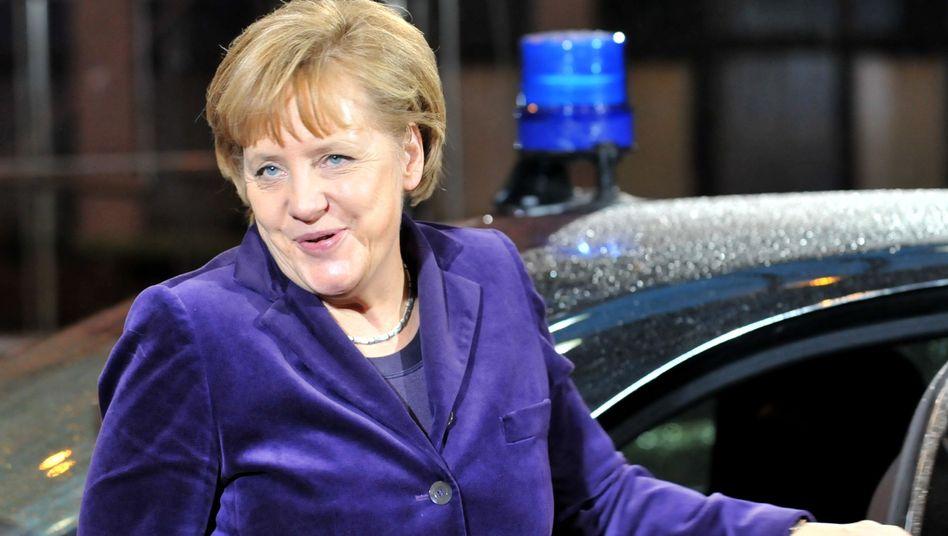 Gipfel in Brüssel: Merkel setzt ihren Euro-Rettungsplan durch