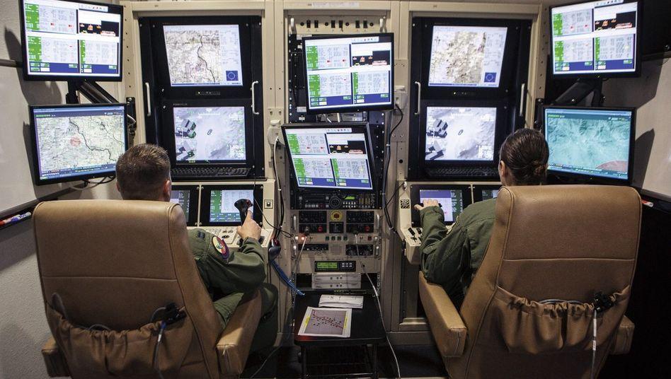 Drohnen-Leitstand in New Mexico: Der moderne Krieg ist unsichtbar, der Entfernung raubt er die Bedeutung