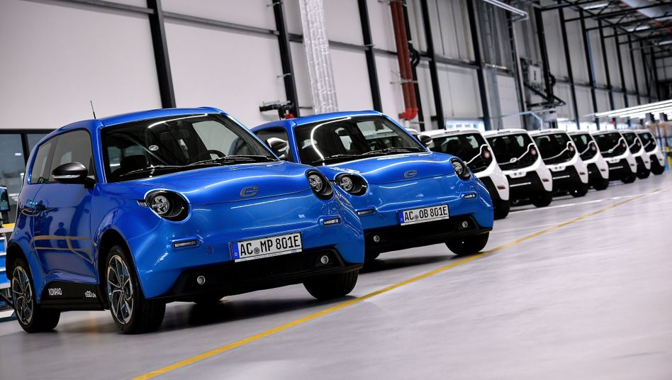 Das Elektroauto e.Go leidet - unter der erhöhten staatlichen Subventionierung und den Folgen des Dieselskandals
