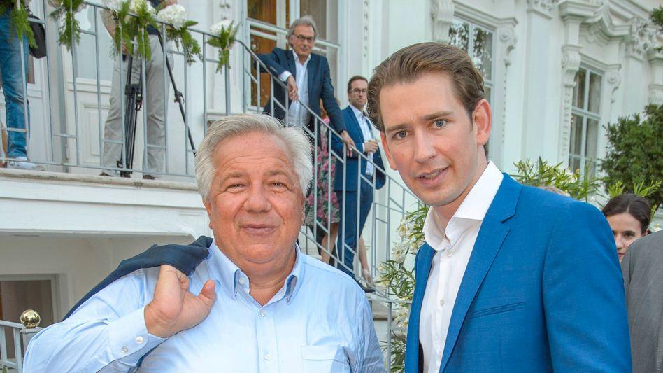 Wolfgang Fellner und Sebastian Kurz