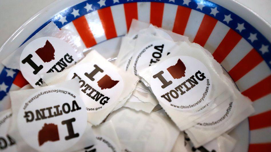 Wahlwerbung in Ohio (Symbolbild)