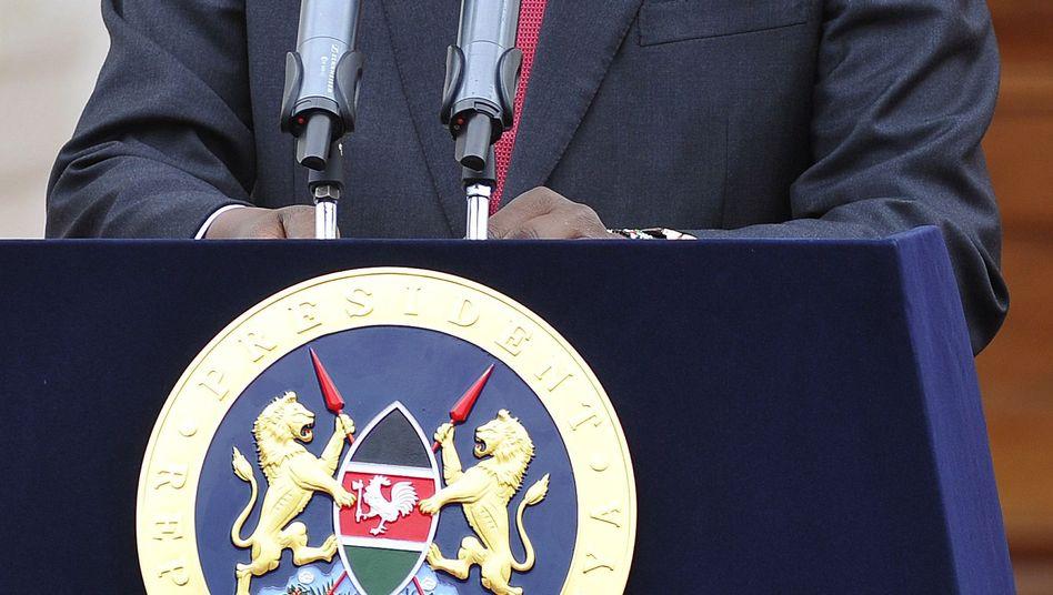 Kenias Staatschef Kenyatta: Verfahren eingestellt