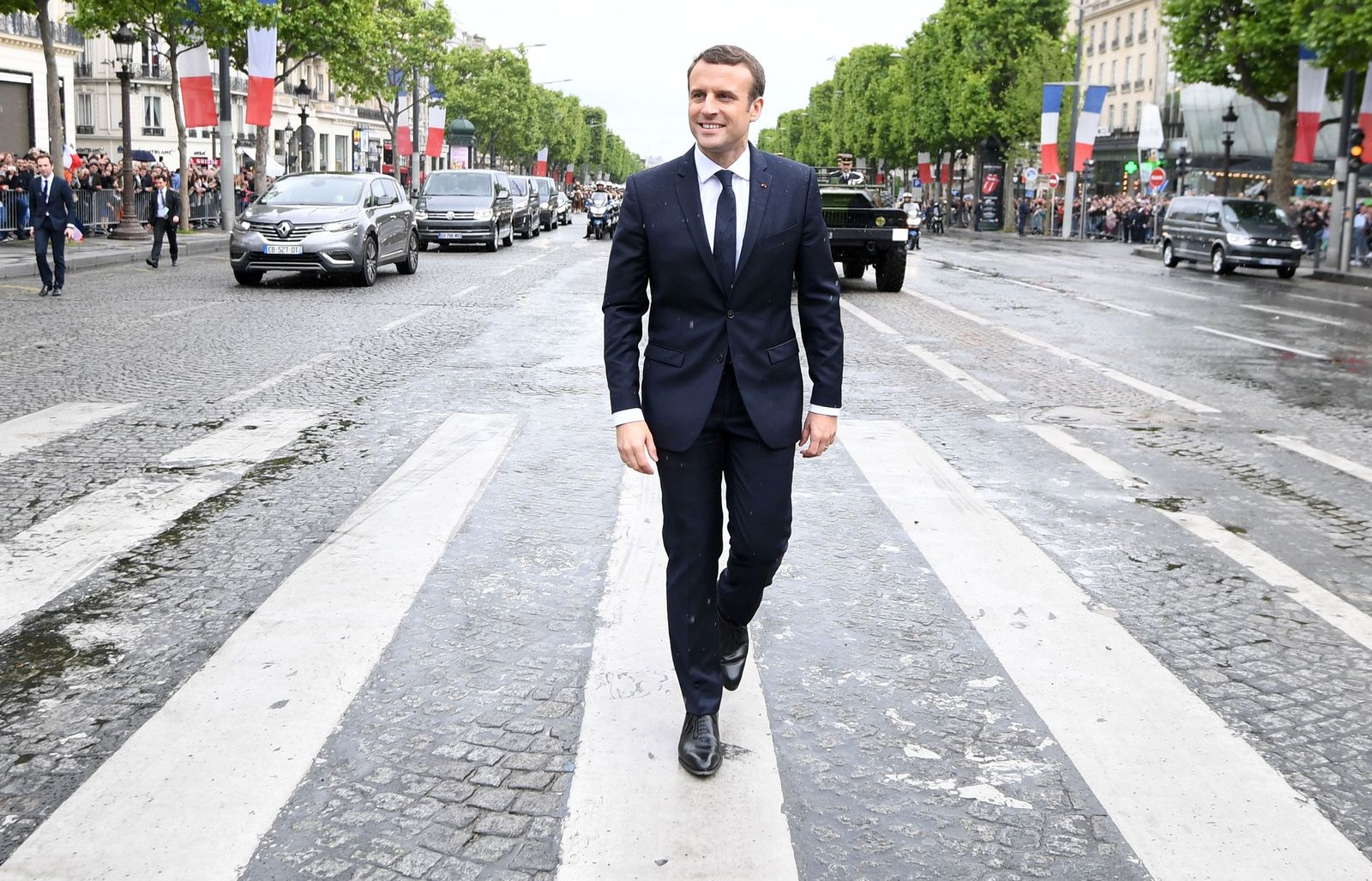 Paris / Emmanuel Macron / Amtseinführung