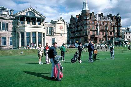 """Zigtausende von Anfragen: Der """"Old Course"""" von St. Andrews ist der wohl berühmteste aller Golfplätze"""
