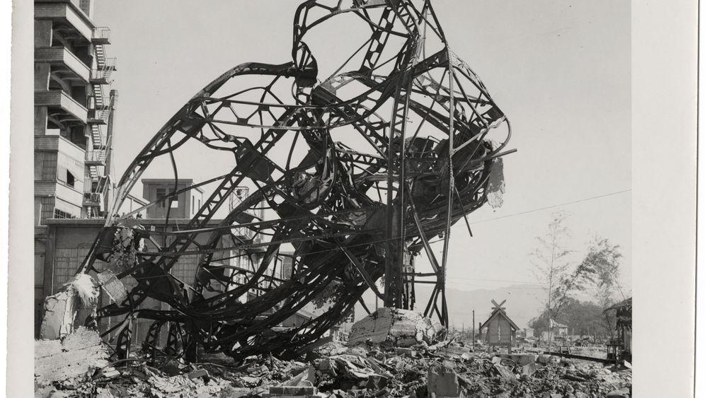 Hiroshima 1945: Bilder einer toten Stadt