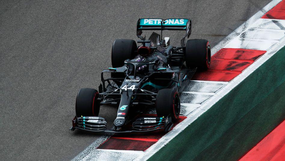 Knackt Hamilton den nächsten Schumacher-Rekord? Der Brite kann in Sotschi seinen 91. Sieg einfahren