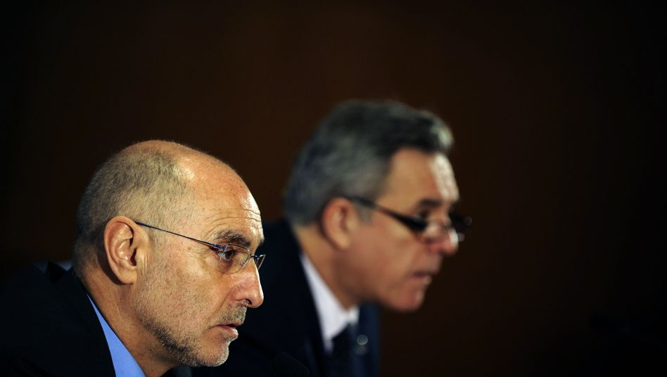 """Baskischer Innenminister Ares (l.) mit Vize: """"Die Eta ist so geschwächt wie nie zuvor"""""""