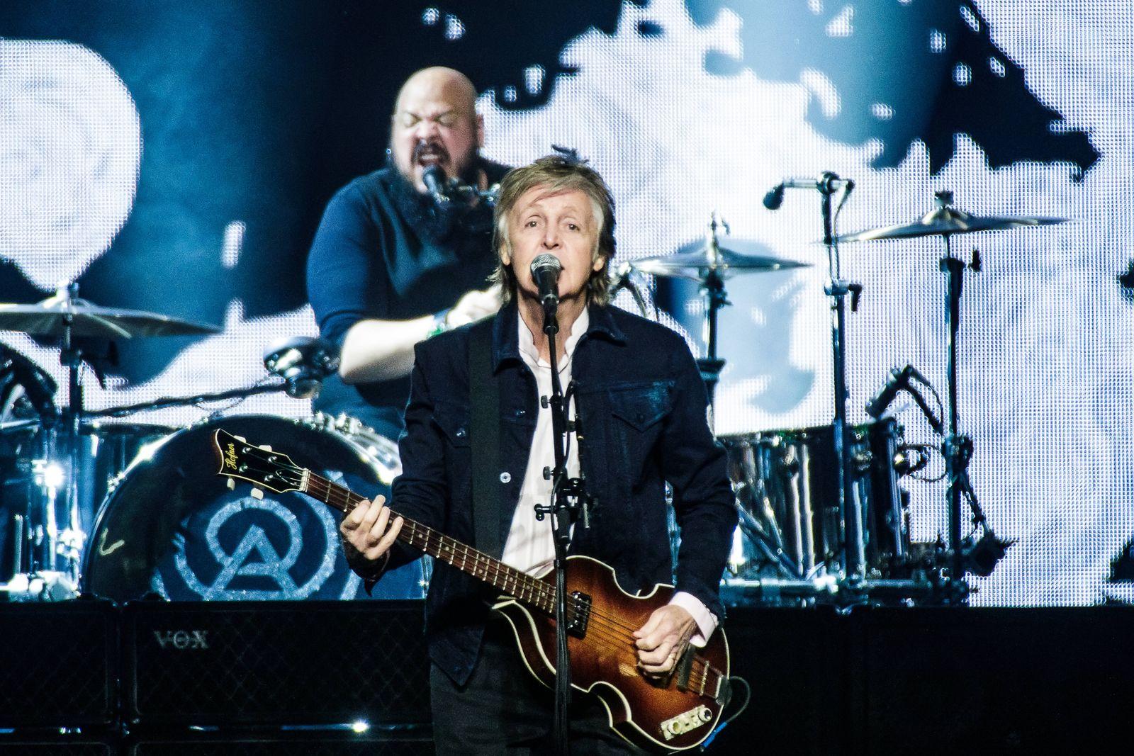 Paul McCartney live in Copenhagen, Denmark Denmark, Copenhagen - November 30, 2018. Paul McCartney, the English singer,