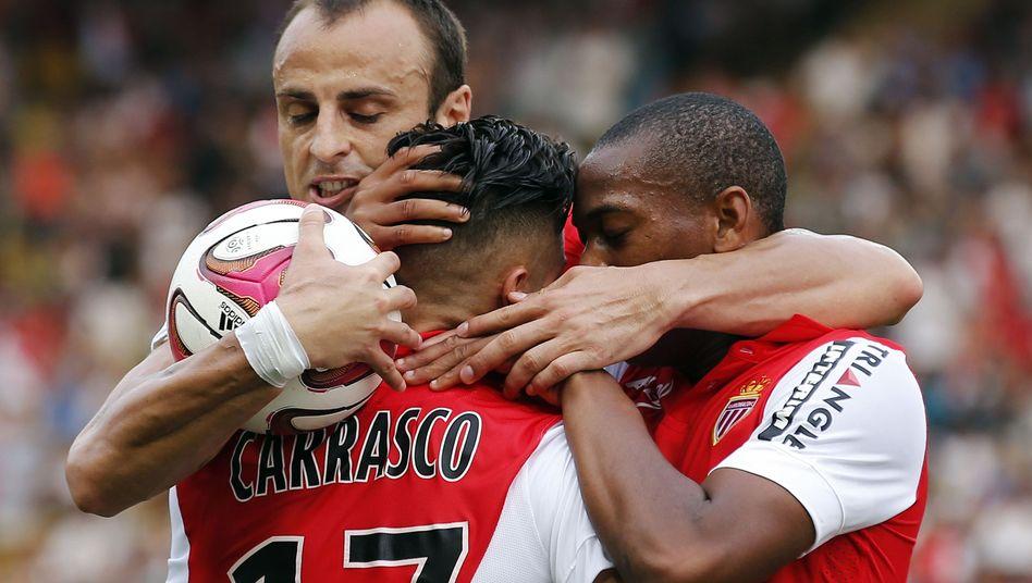 Profis von AS Monaco: In der französischen Liga derzeit nur Mittelmaß