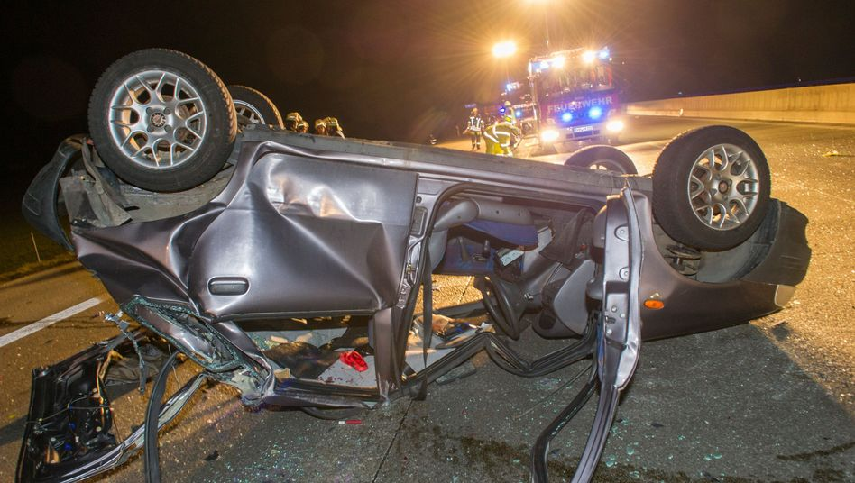 Verkehrsunfall: Anstieg der der tödlichen Crashs auf Deutschlands Straßen