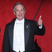 """New Yorks Bürgermeister Michael Bloomberg. """"Er und Clinton werden zusammen mehr als 50 Prozent der Stimmen bekommen"""""""