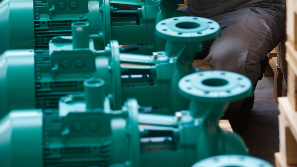 Pumpen-Produktion: Nachfrage nach deutschen Maschinen sinkt